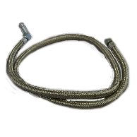 Braided Hose (1m) with Elbow